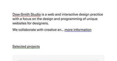 Dow-Smith Studio Thumbnail Preview