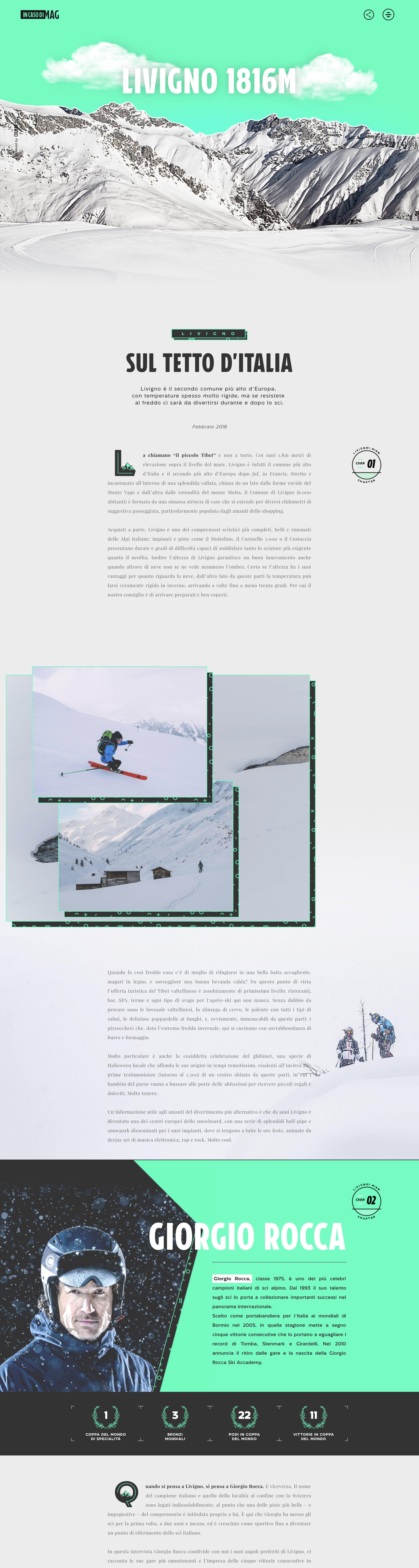Livigno – In caso di MAG Website Screenshot