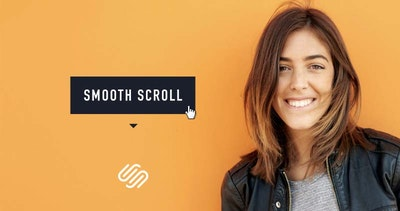 How to Smooth Scroll to Landing Page sections with Squarespace [video]