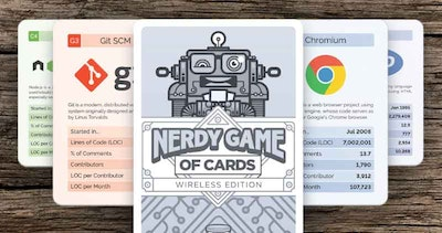 "Win 1 of 3 ""Nerdy Game of Cards"""