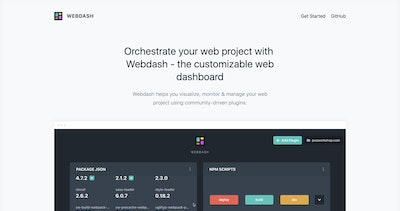 Webdash Thumbnail Preview