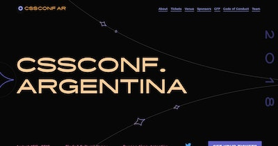 CSSConf Argentina 2018 Thumbnail Preview