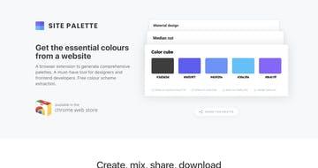 Site Palette Thumbnail Preview