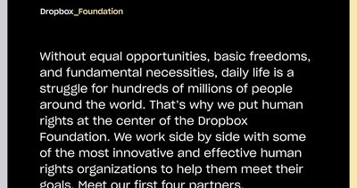 Dropbox Foundation Thumbnail Preview