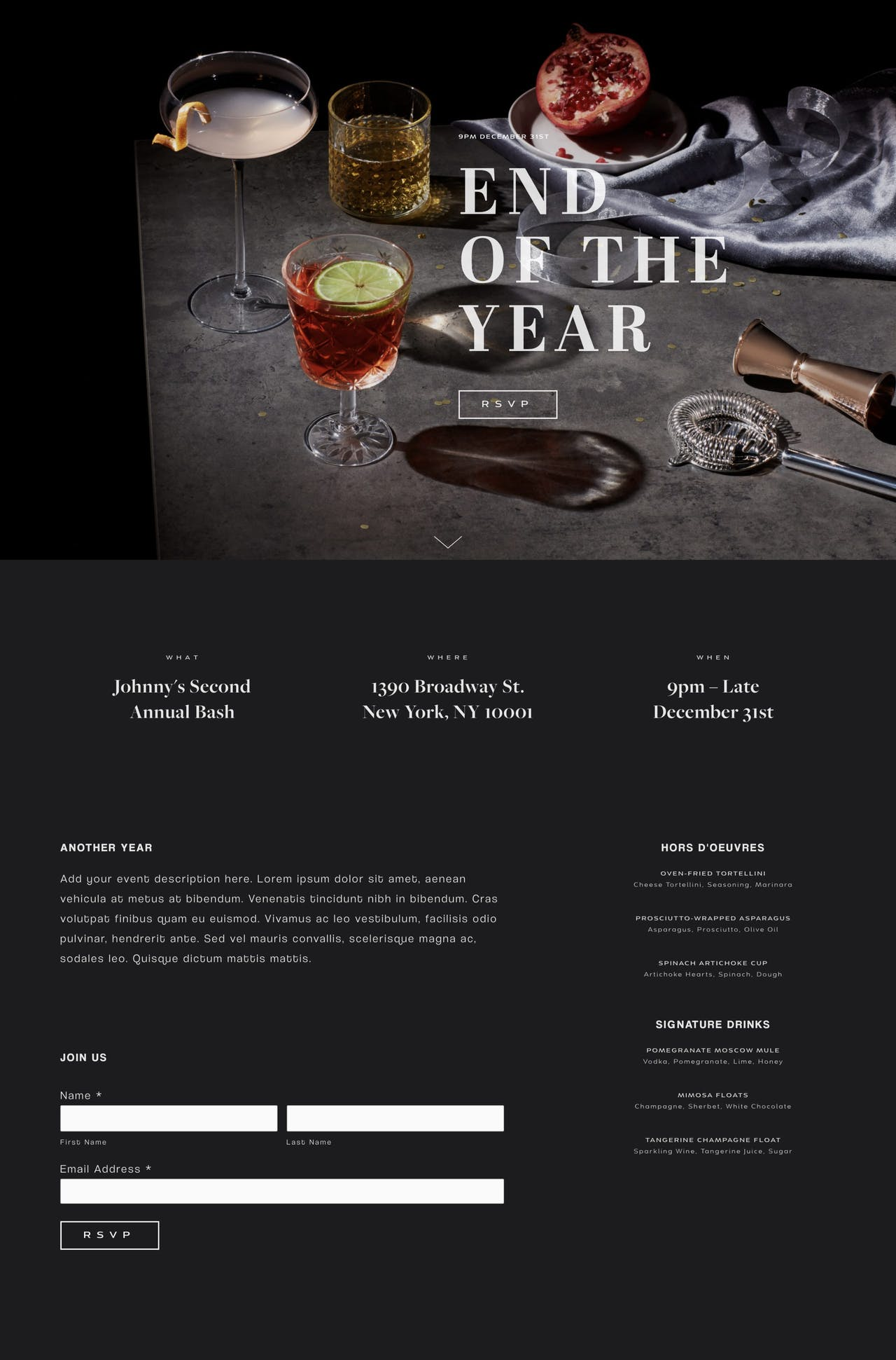 Royce Squarespace Template Screenshot