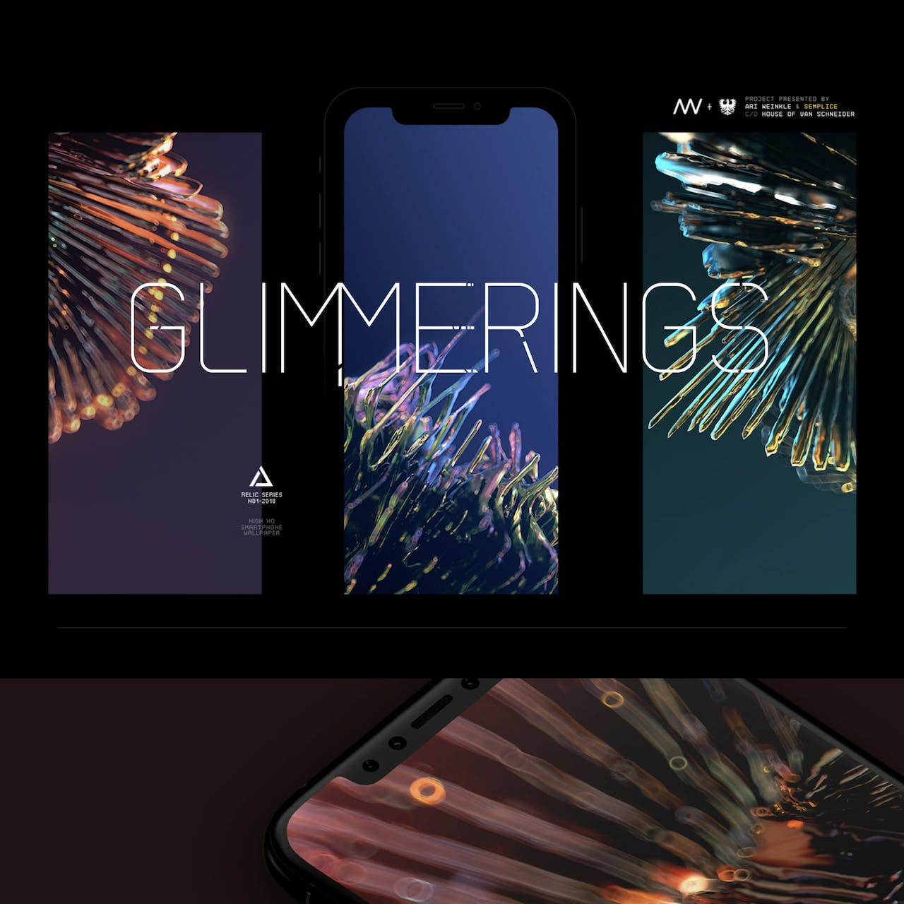 Glimmerings Website Screenshot
