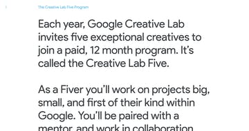 Creative Lab Five Thumbnail Preview