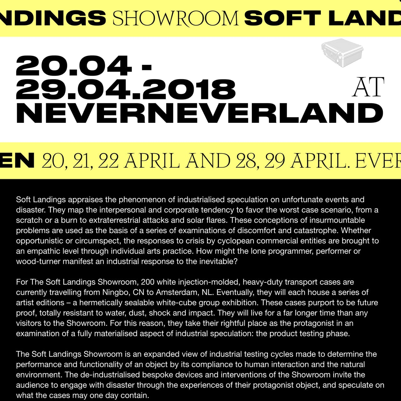 Soft Landings Website Screenshot