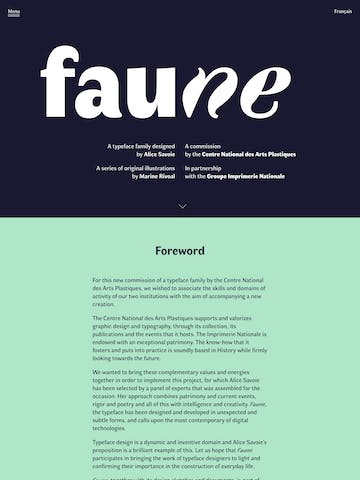 Faune Thumbnail Preview