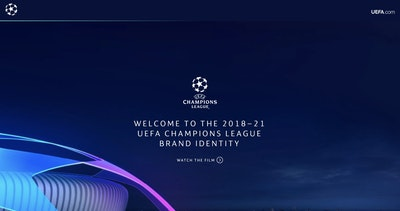 UEFA Champions League Branding Thumbnail Preview