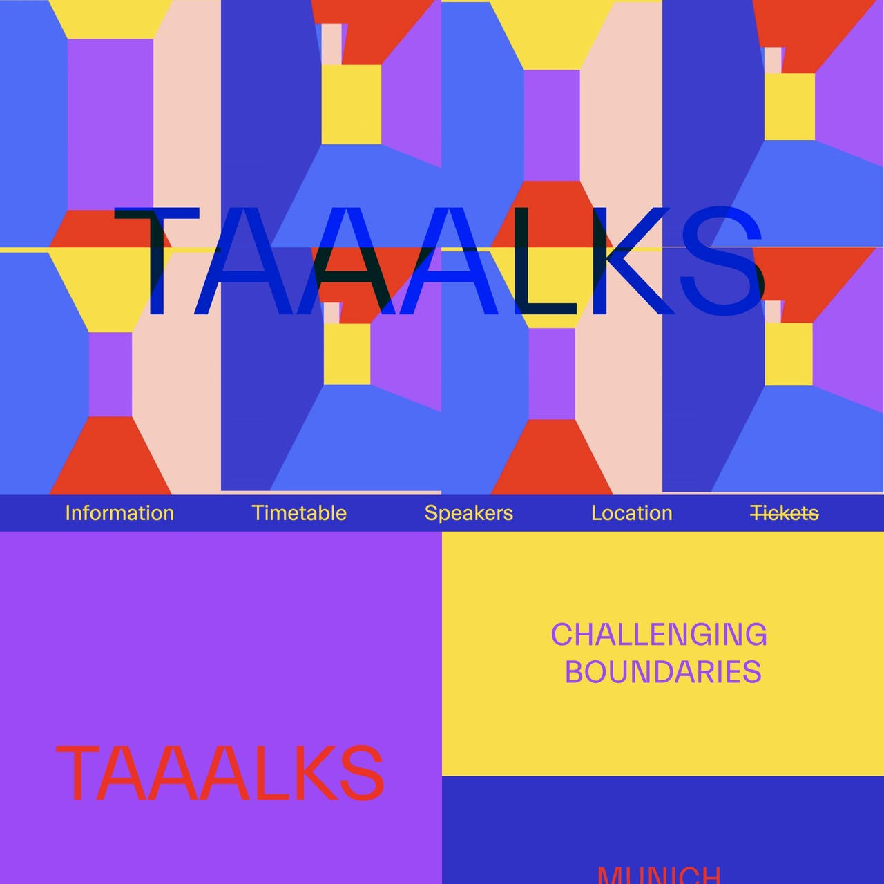 TAAALKS Website Screenshot