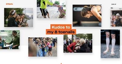 Strava – #GiveKudos Thumbnail Preview