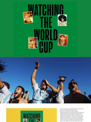 Watching The World Cup Book Thumbnail Preview