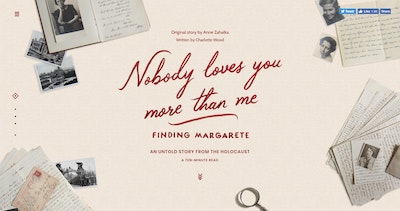 Nobody Loves You More Than Me: Finding Margarete Thumbnail Preview