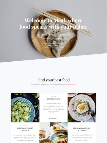 Meal Thumbnail Preview