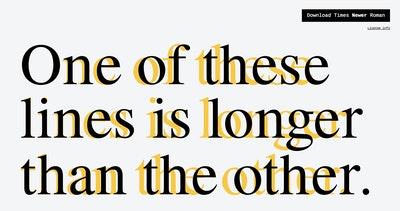 Times Newer Roman Thumbnail Preview