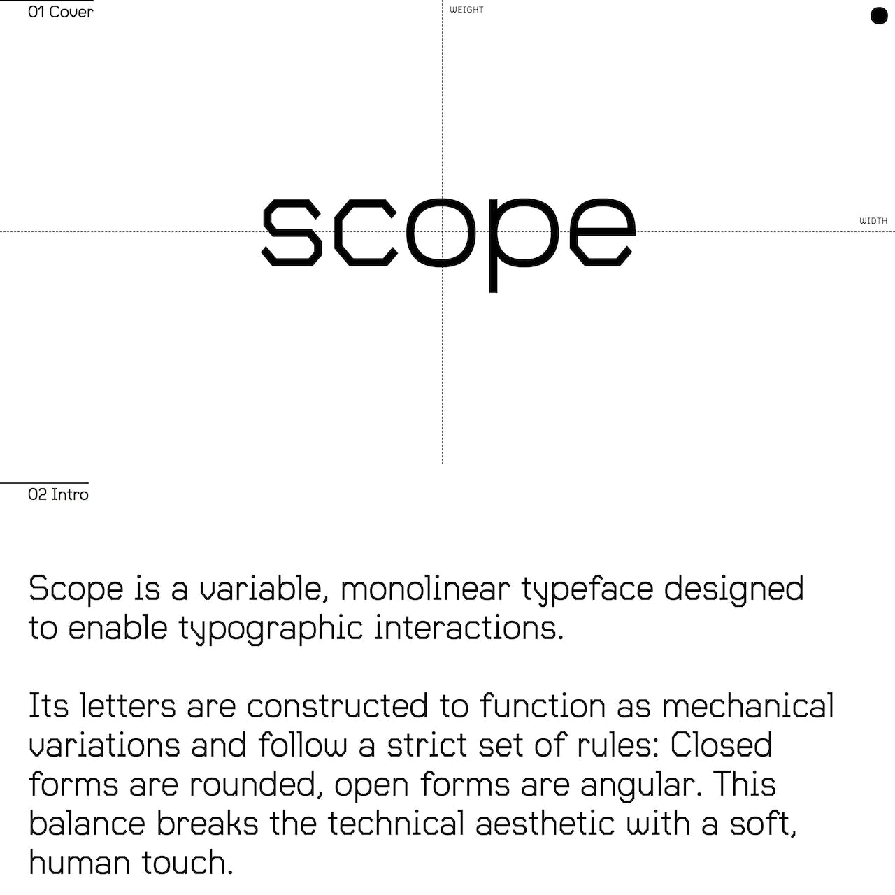Scope Website Screenshot