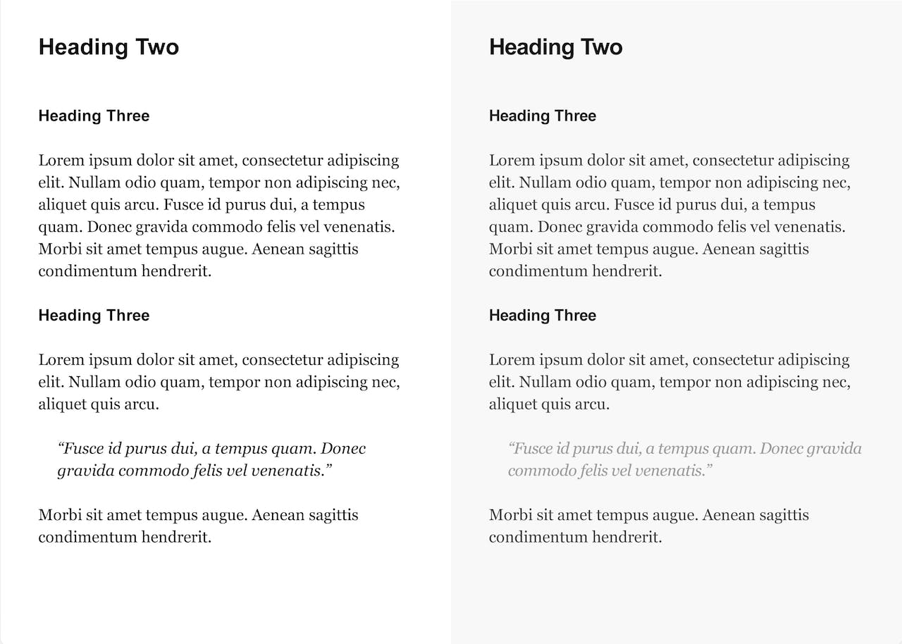 Text Kerning comparison Screenshot