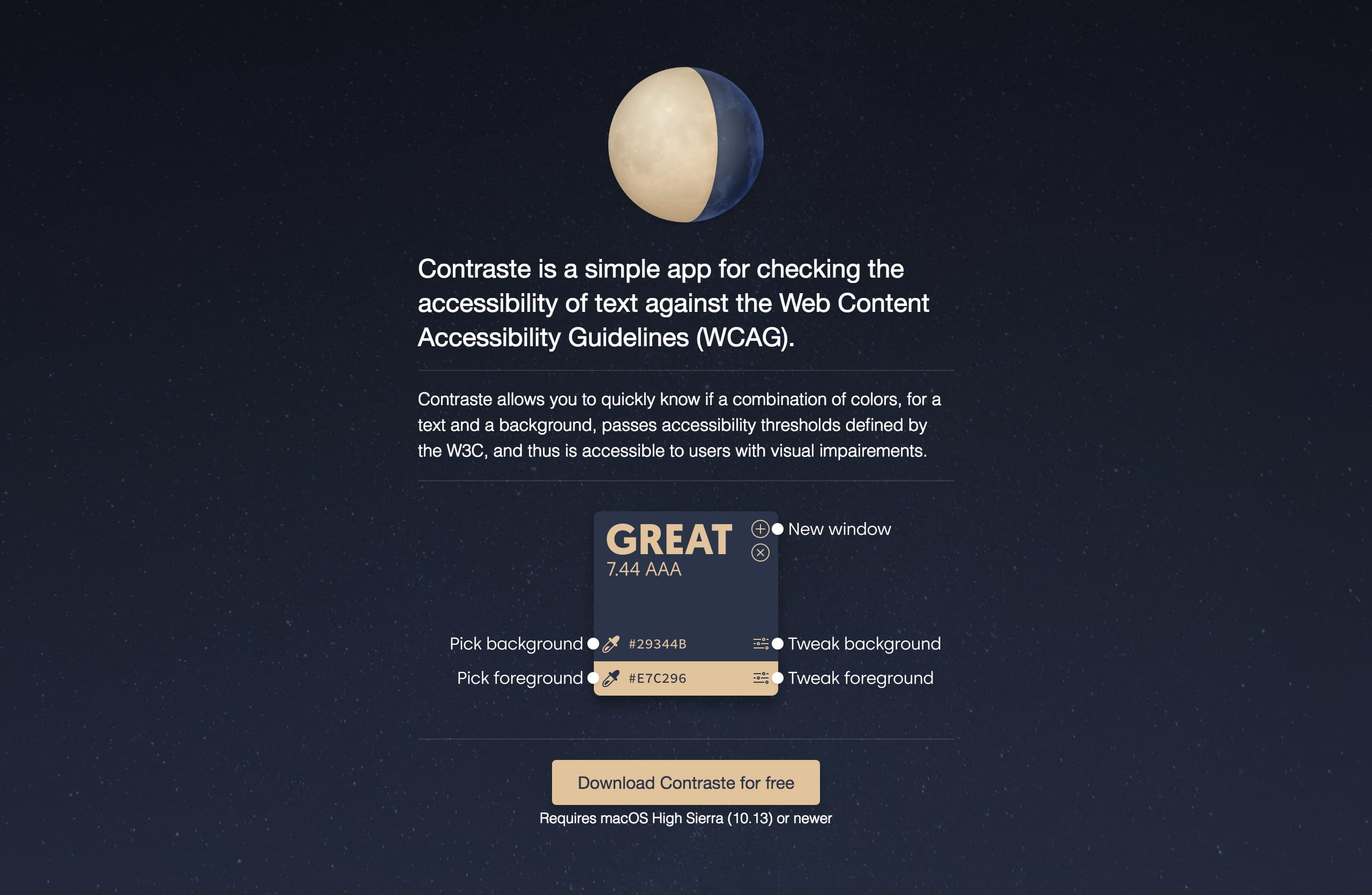 Contraste Website Screenshot