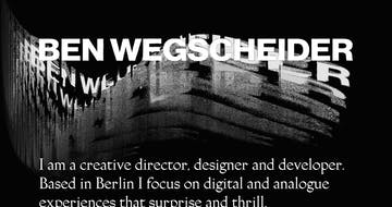 Ben Wegscheider Thumbnail Preview