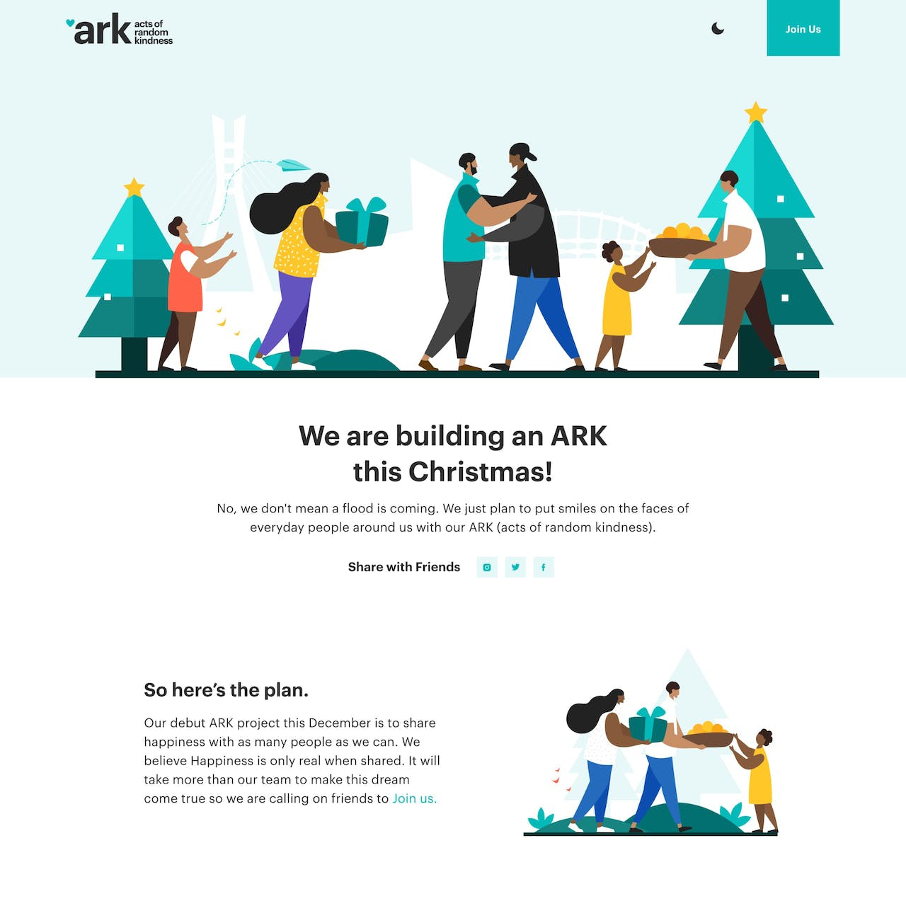 ARK by Cregital Website Screenshot