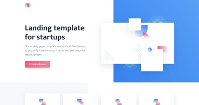 one page templates