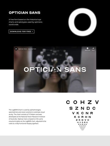 Optician Sans Thumbnail Preview