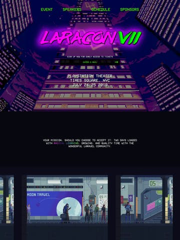 Laracon VII Thumbnail Preview