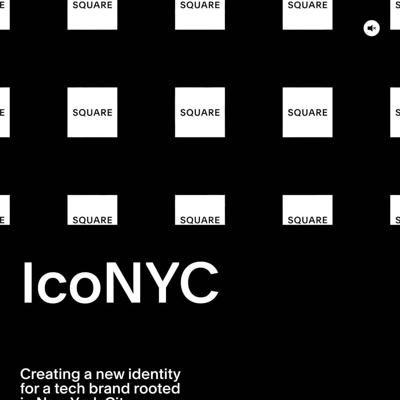 IcoNYC – Squarespace Website Screenshot