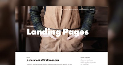 5 squarespace landing page templates to launch your next idea