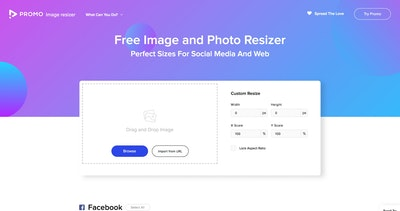 Image Resizer by Promo Thumbnail Preview