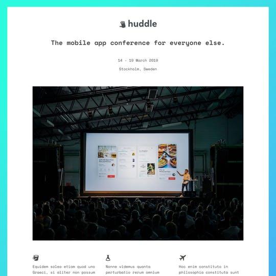 Huddle Thumbnail Preview