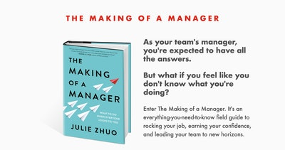 The Making of a Manager Book Thumbnail Preview