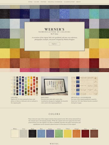 Werner's Nomenclature of Colours Thumbnail Preview