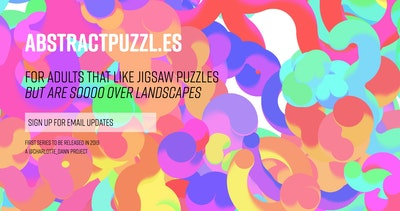 Abstract Puzzles Thumbnail Preview
