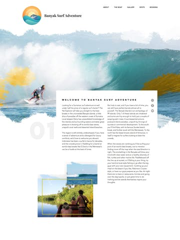 Banyak Surf Adventure Thumbnail Preview