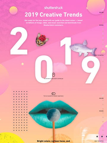 2019 Creative Trends by Shutterstock Thumbnail Preview