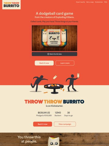 Throw Throw Burrito Thumbnail Preview