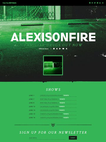 Alexisonfire Thumbnail Preview