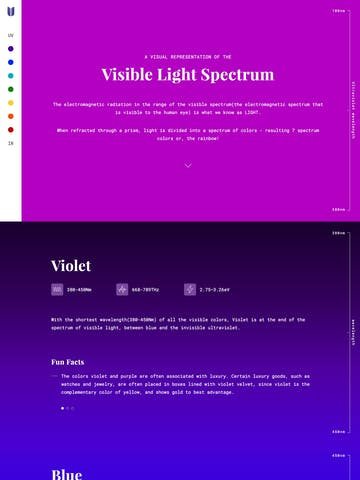 Visible Light Spectrum Thumbnail Preview
