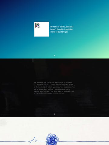 Video Background One Page Websites