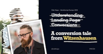 Understanding Landing Page Conversions (A tale from Witzenhausen)