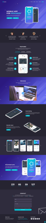 Leno Website Screenshot