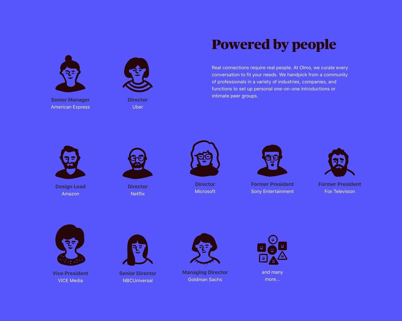 Team Section - Olmo Screenshot