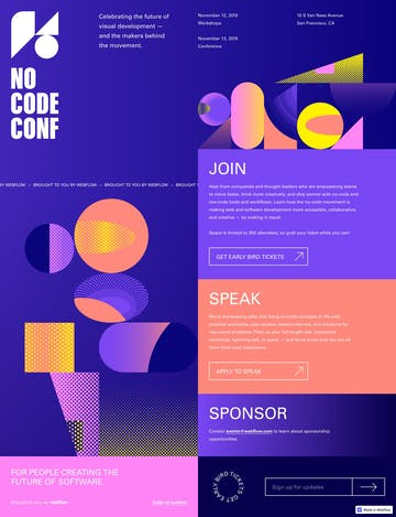 No Code Conference 2019 Thumbnail Preview