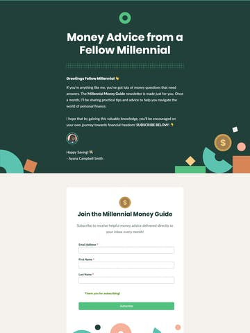Millennial Money Guide Thumbnail Preview