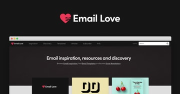 Email Design Inspiration? Meet Email Love
