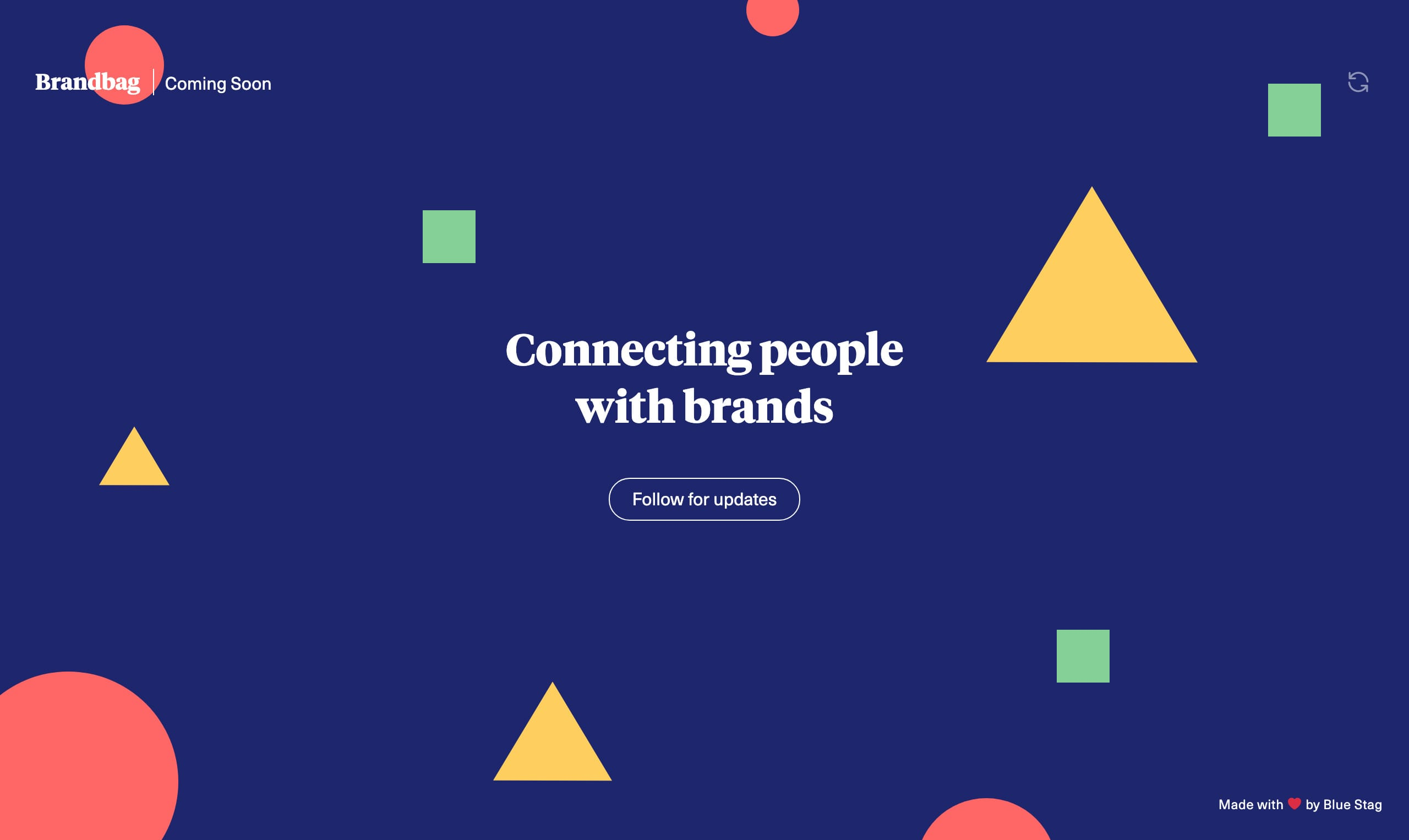 Brandbag Website Screenshot