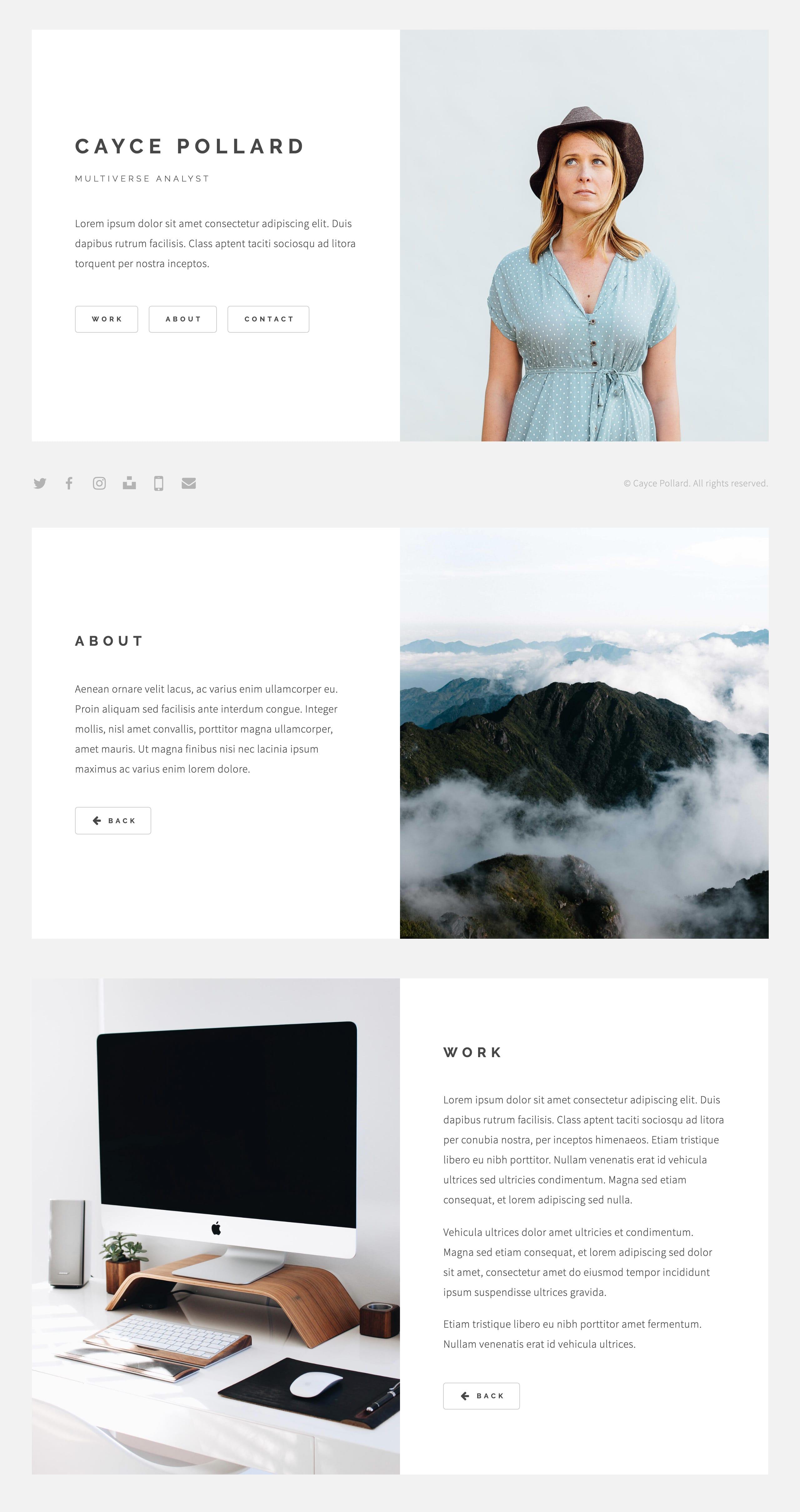 Cayce Website Screenshot
