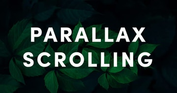 How to archieve Parallax Scrolling in a Squarespace website [video tutorial]